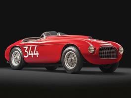 Ferrari 166 MM Touring Barchetta: unikát v aukci: titulní fotka