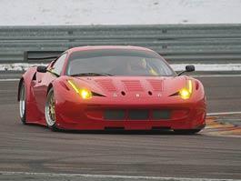Ferrari 458 GTC: zasněžené testy ve Fioranu: titulní fotka