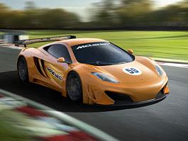 McLaren oznámil vývoj závodní verze GT3 modelu MP4-12C: titulní fotka