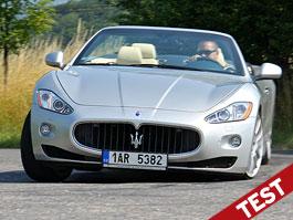 Test: Maserati GranCabrio: Letní láska: titulní fotka