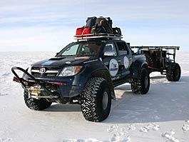 Toyota Hilux: antarktická mise: titulní fotka