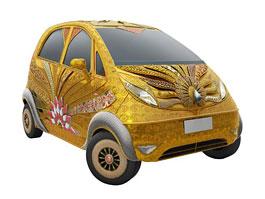 Tata Nano od Titan Industries: automobilový šperk: titulní fotka
