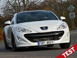 Test: Peugeot RCZ 1.6 THP: Nafta patří do kamen: titulní fotka