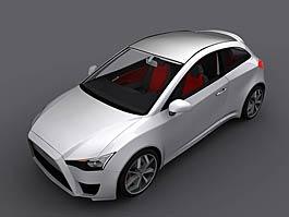 Mitsubishi CS Design Concept: Colt proklatě nízko: titulní fotka