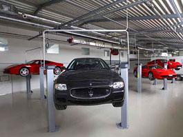 Scuderia Praha: servis Ferrari a Maserati v novém. A brzy i Abarth!: titulní fotka