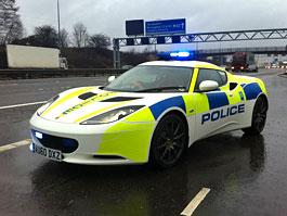 Britská policie testuje Lotus Evora: titulní fotka