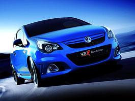 Vauxhall Corsa VXR Blue: Corsa OPC se hodila do gala: titulní fotka