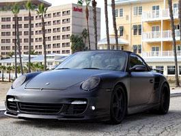 Beckhamovo matné Porsche 911 Turbo Cabriolet prodáno: titulní fotka