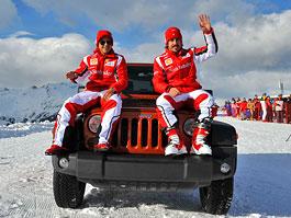 Alonso a Massa propagují... Jeep Wrangler: titulní fotka