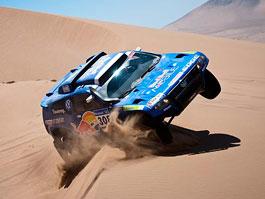 Volkswagen Race Touareg: dakarský hattrick: titulní fotka