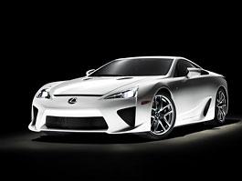 Pneu Bridgestone pro Lexus LF-A: titulní fotka