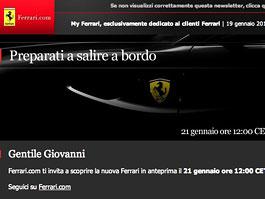 Nástupce Ferrari 612 Scaglietti: premiéra pro VIP už zítra: titulní fotka