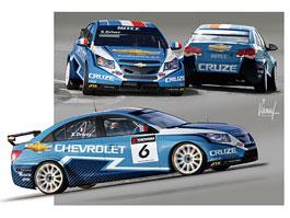 Chevrolet Cruze pro WTCC: grafický návrh odhalen: titulní fotka