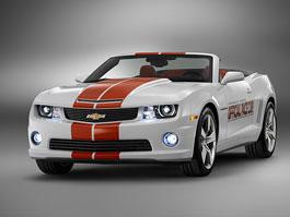 Chevrolet Camaro SS Convertible: Indy 500 má nový Pace Car: titulní fotka