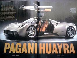 Pagani Huayra představeno ve španělském časopise CAR Magazine!: titulní fotka