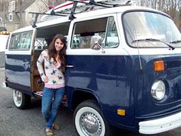 VW Microbus pro holku s nejhezčím zadkem: titulní fotka