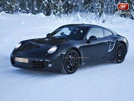 Spy Photos: nová generace Porsche 911: titulní fotka