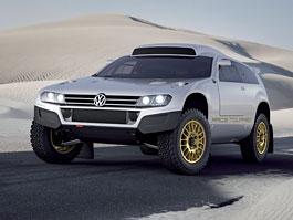 Volkswagen Race Touareg: homologován pro silniční provoz!: titulní fotka