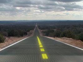 Silnice ze solárních panelů: naše budoucnost?: titulní fotka
