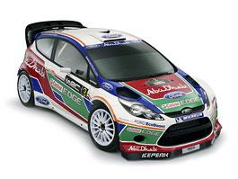 Ford Fiesta RS WRC: nové barvy pro nové závodní auto: titulní fotka