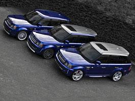 Range Rover Sport by Project Kahn: Modrá je dobrá. Ale modrá se šedou ještě lepší.: titulní fotka