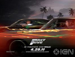 Fast&Furious 5: v kinech od 29. dubna: titulní fotka