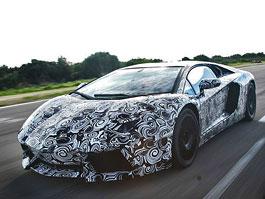 Lamborghini Aventador: první oficiální foto exteriéru: titulní fotka