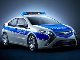 Opel Ampera: ideální auto pro městskou policii?: titulní fotka