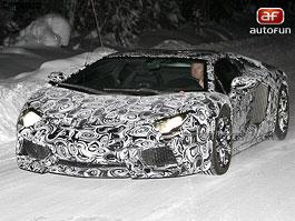 Spy Photos: Lamborghini Aventador aneb býk se chystá do arény: titulní fotka