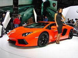 Ženeva 2011 živě: Lamborghini Aventador LP700-4: titulní fotka