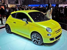 Ženeva 2011 živě: Fiat 500 Coupé Zagato: titulní fotka