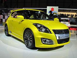 Ženeva 2011 živě: Suzuki Swift Concept S: titulní fotka