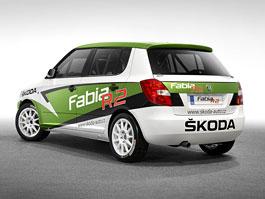 Škoda Auto představila nový soutěžní vůz Fabia R2: titulní fotka
