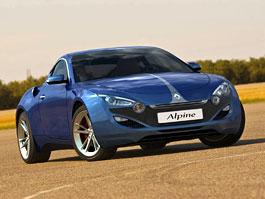 Renault Alpine: studie nového kupátka: titulní fotka