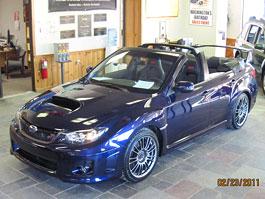 Subaru WRX STI Convertible: sportovec bez střechy: titulní fotka