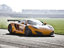 McLaren MP4-12C GT3: první ostrý test v Silverstone: titulní fotka