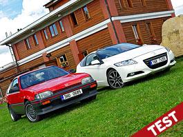 Srovnávací test: Honda CR-Z vs Honda CR-X: titulní fotka
