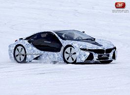 Spy Photos: BMW i8: titulní fotka
