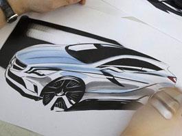 Nový Mercedes-Benz třídy A: první skica: titulní fotka