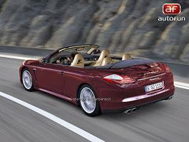 Spy Photos: Porsche Panamera Cabrio: titulní fotka