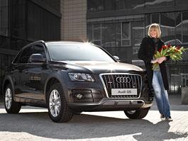 Diana Kobzanová mění Audi A5 za Q5,