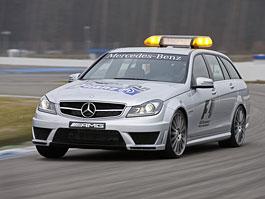 Mercedes-Benz C63 AMG: facelift i pro F1 Medical Car: titulní fotka