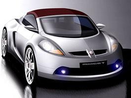 Roadster MG F/TF bude mít nástupce: titulní fotka