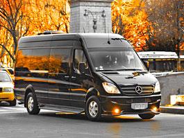 Brilliant Van Mercedes-Benz Sprinter: Maybach XXXXXL: titulní fotka