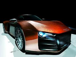 Audi R10: designová studie auta většího než R8: titulní fotka