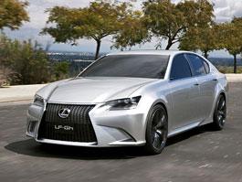 Lexus LF-Gh Concept: první hybridní sportovní sedan z Japonska: titulní fotka