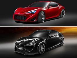 Toyota FT-86 vs Scion FR-S: který