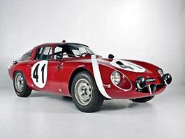 "Alfa Romeo Giulietta SZ ""Coda Tronca"" a TZ Coupé míří do aukce: titulní fotka"