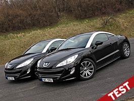 Srovnávací test: Peugeot RCZ 1.6 THP vs. RCZ 2.0 HDi: titulní fotka