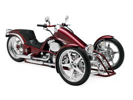 Harley-Davidson Penster: na třech kolech v náklonu: titulní fotka